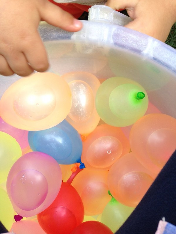 simple sensory play for babies