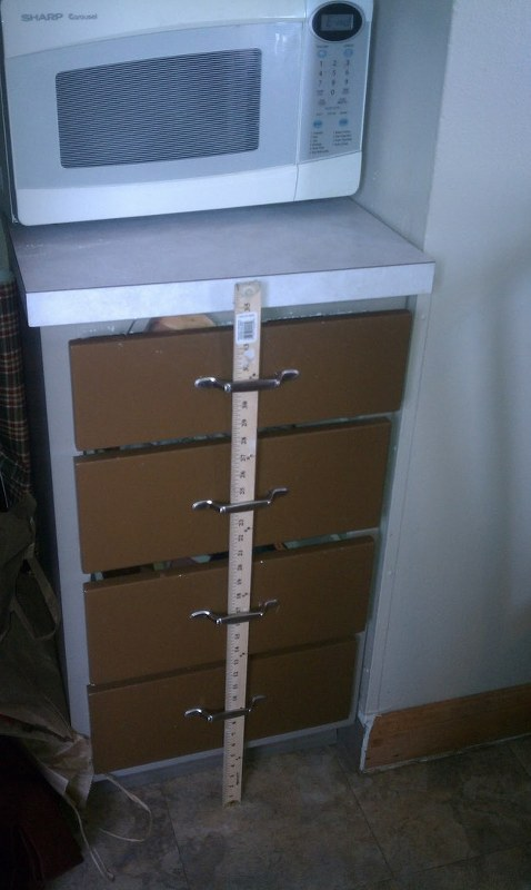 Baby proof drawer parenting hack