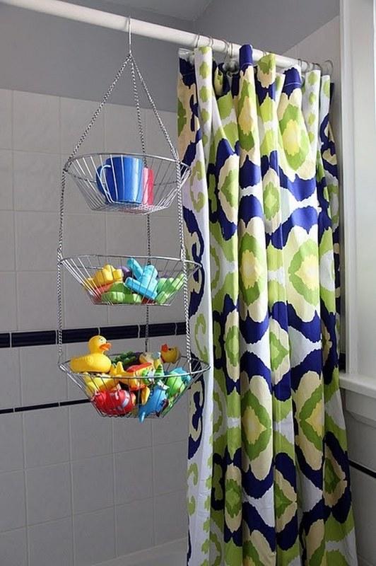 Bathroom holders parenting hack