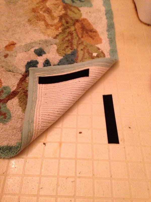 Securing the carpet parenting hack