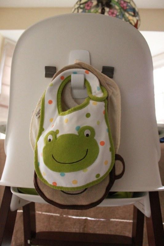 Custom hook high chair parenting hack