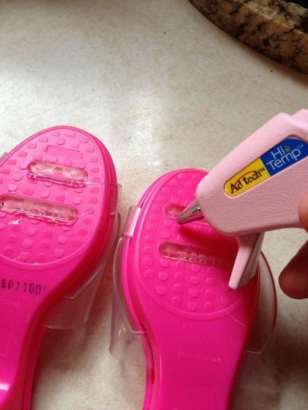 Anti skid shoe parenting hack