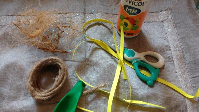 Materials Needed For DIY Bird's Nest