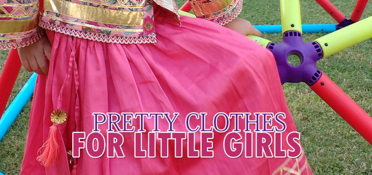 Pretty clothes for little girls