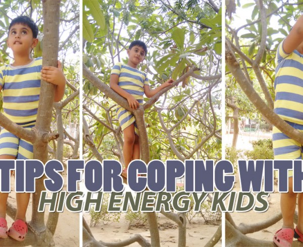 Tips For Coping With High Energy Kids