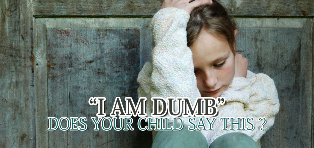 Response To Your Child's Negative Talk