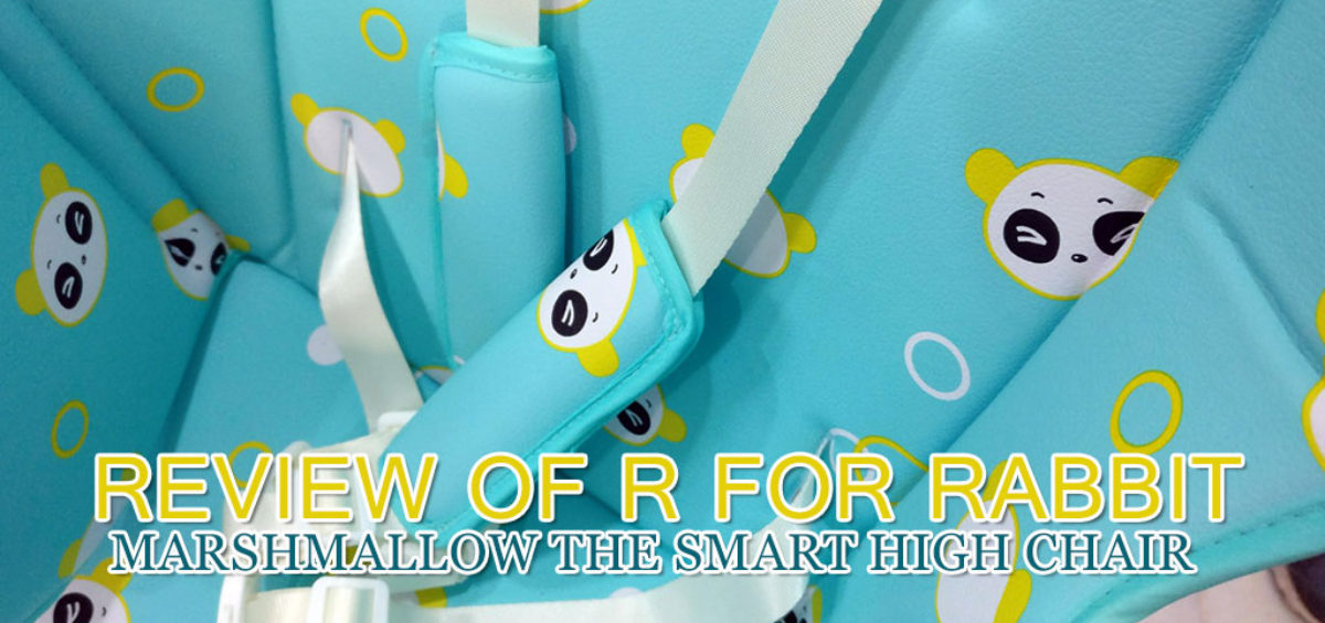 R For Rabbit Marshmallow Smart High Chair Review