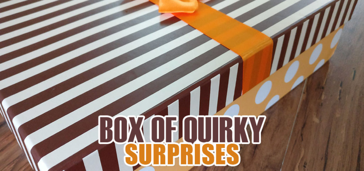 Quirky Gift Box Of Surprises